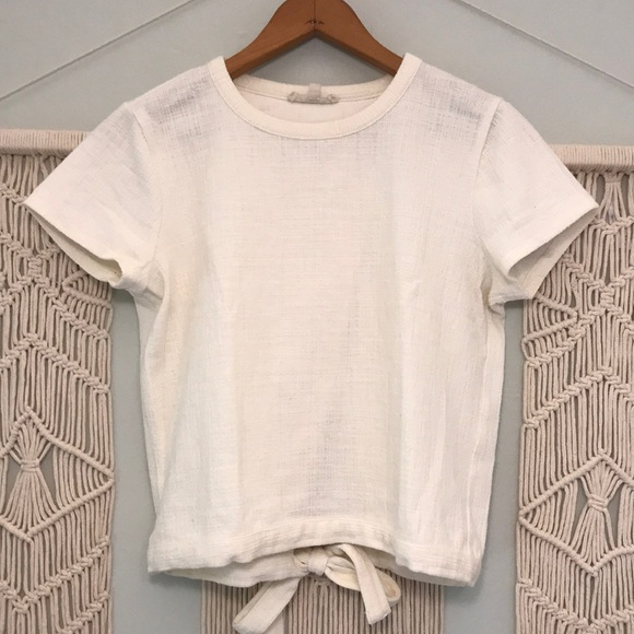 Madewell Tops - Madewell tie-back top size xs
